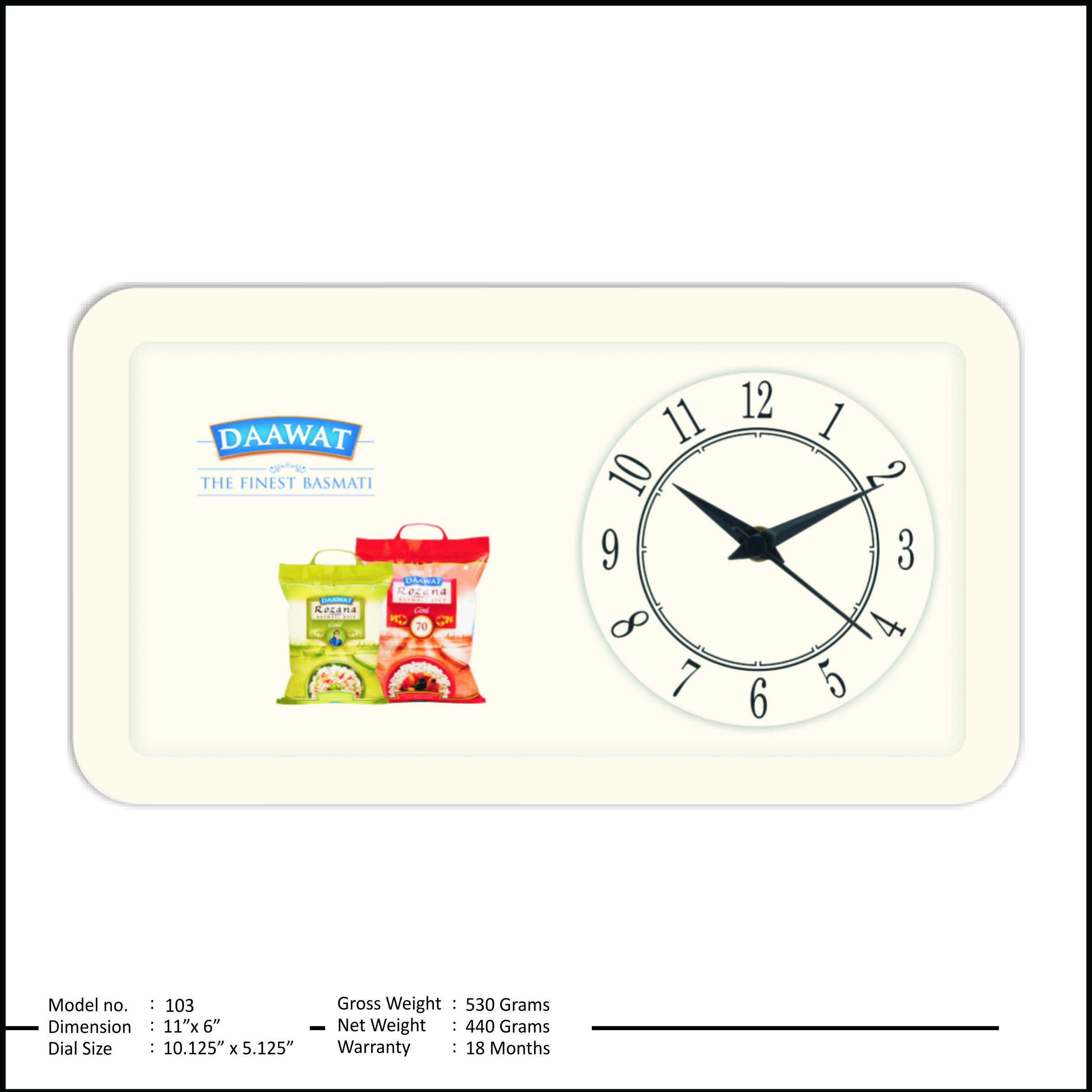 Promotional Table Clocks
