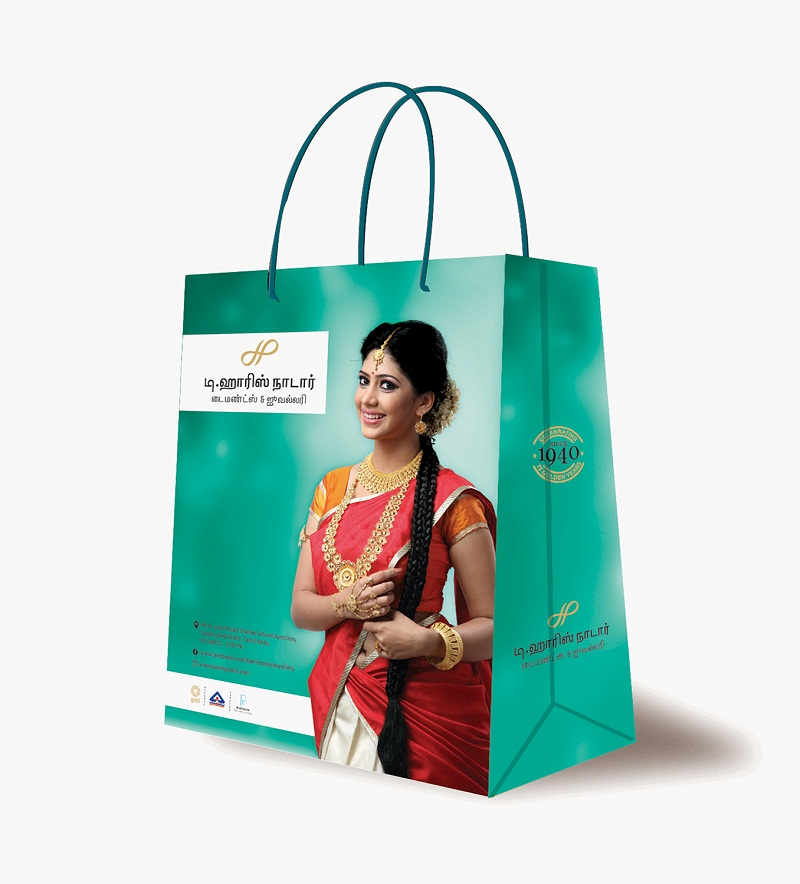 Non Tearable Paper Bags For Diamond